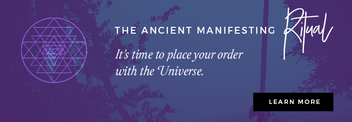 The Ancient Manifesting Ritual
