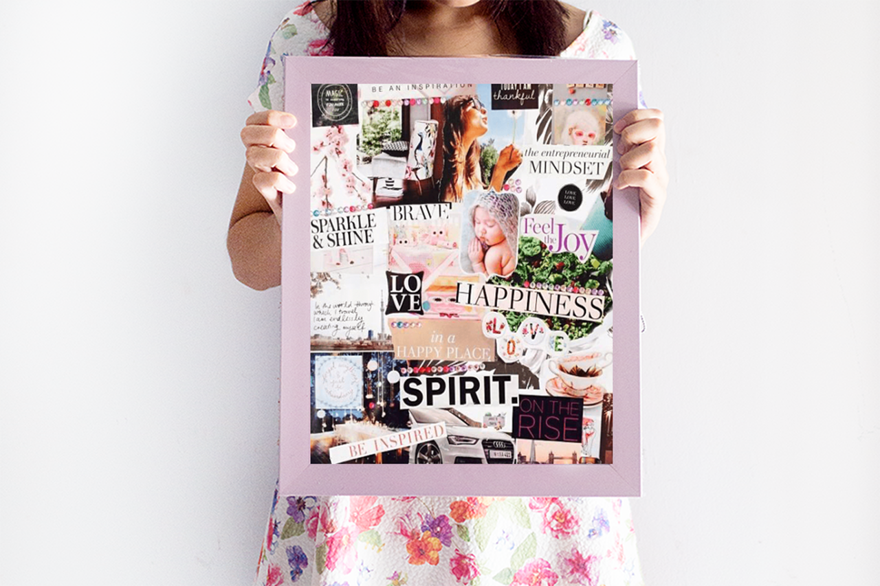 How To Make A Vision Board That Actually Works Sarah Prout