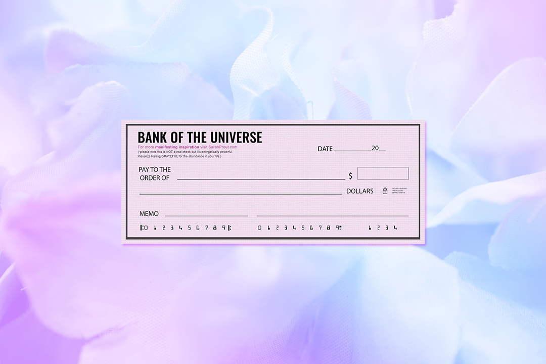 Limitless Abundance and Making A Withdrawal from The Bank of the Universe